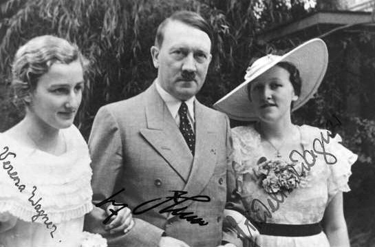 Hitler with  Wagner women