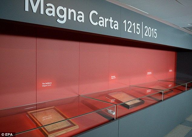 Original Magna Carta on Display