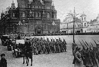 Russian Revolution at Red Square