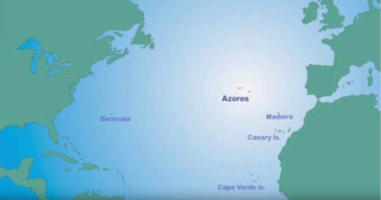 Screenshot 1 map azores islands