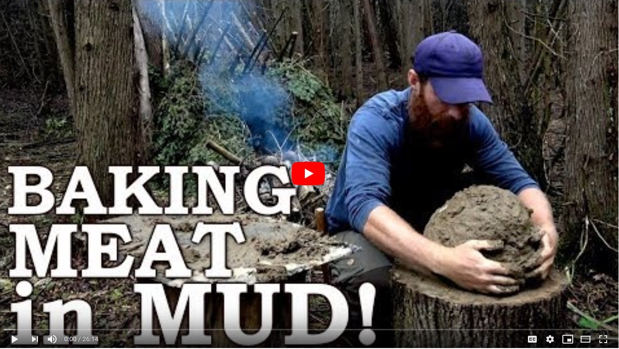 Screenshot 1baking meat in mud