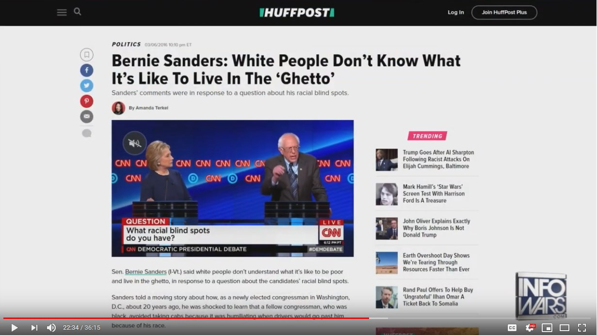 Screenshot 1sanders