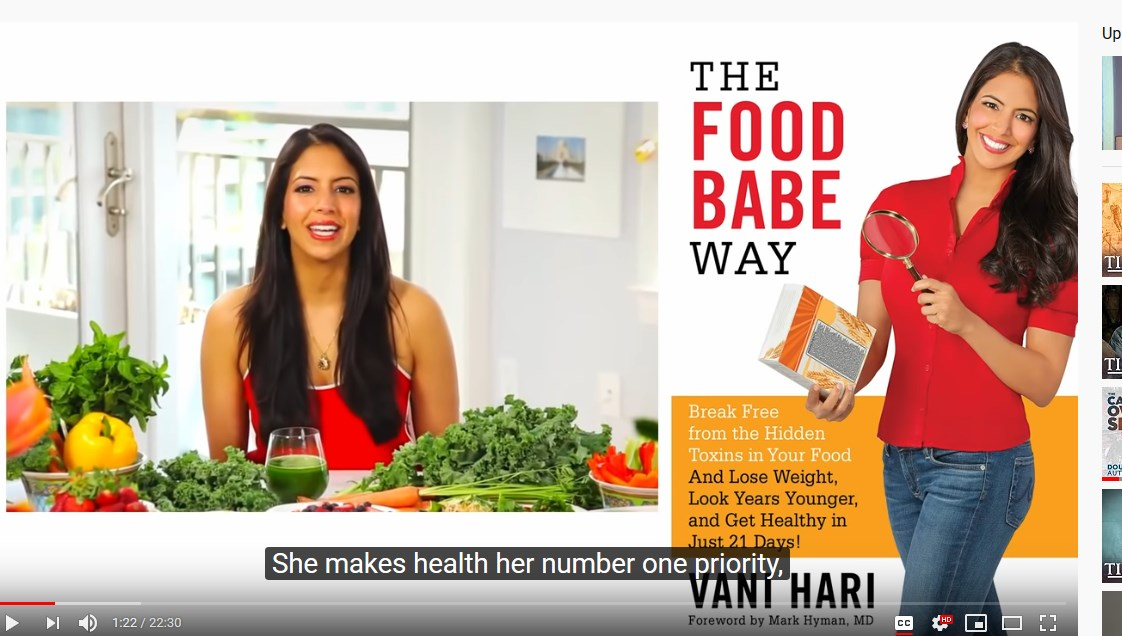 Screenshot 1the food babe way