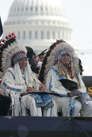 American Indians at White House