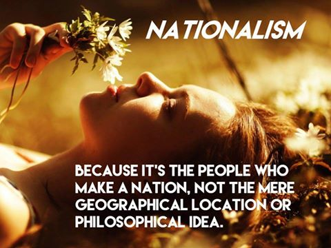 Nationalism is about People