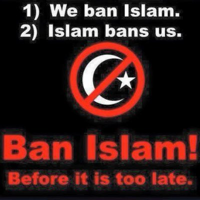 Ban Islam Before It Bans Us