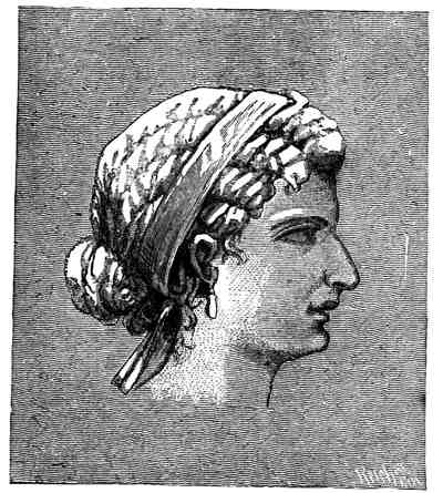 Portait of Cleopatra from Ancient Egypt