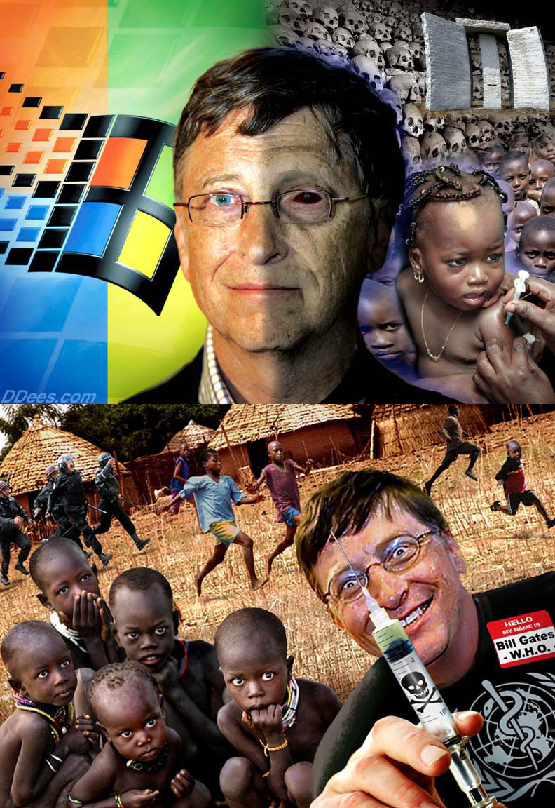 David Dees Bill Gates WHO Vaccines