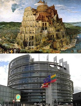 EU Parliament the new babylon
