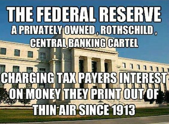 Federal Reserve Bank Rothschild Connection