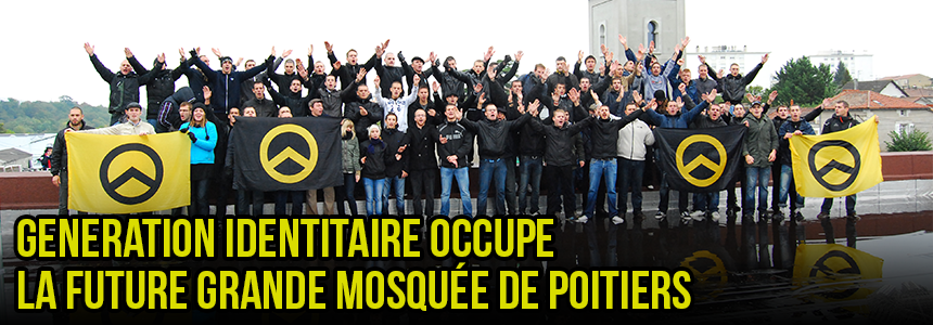 Generation Identitaire Occupy Mosque