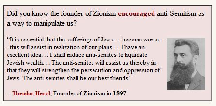 quote from zionist theodore herzl