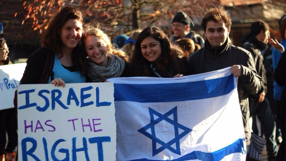 Pro Israel Protest