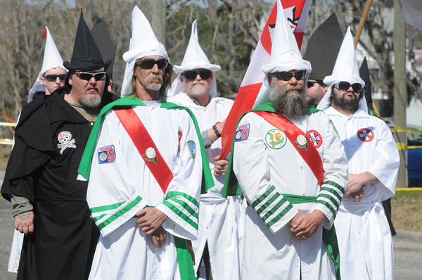 KKK Members in Uniform