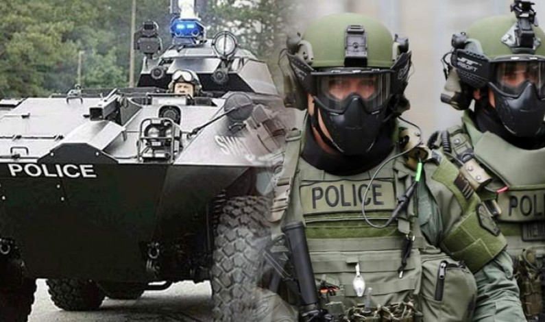 Militarized Police in the US