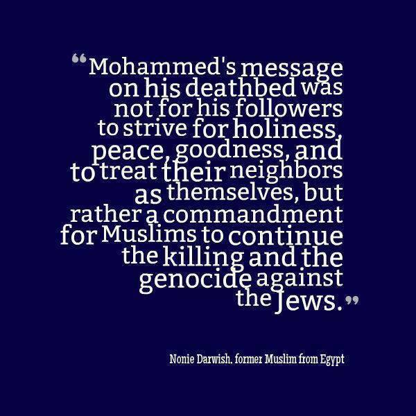Mohammed's Deathbed Message