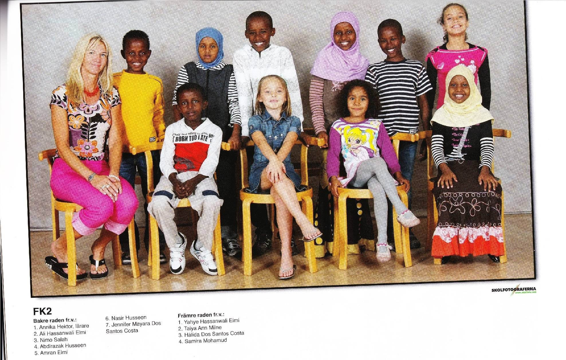 Swedish Classroom White Minority