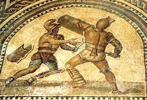 Verus and Priscus Battle
