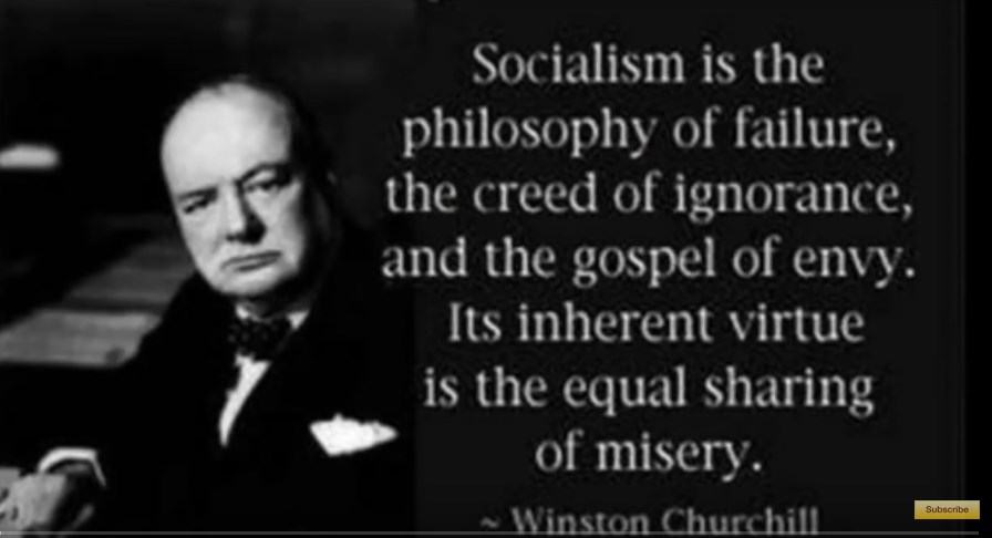 winston churchill and socialism