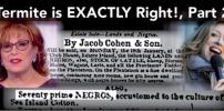 Joy Behar Unwittingly Exposes Jewish Slave Trading