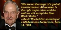 Rockefellers (Gentile ?), New World Order