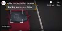 Australia, Mobile Phone Detection Cameras