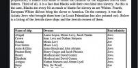 List  Of Jewish Slave Ships