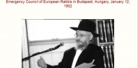 RABBI RABINOVICH'S SPEECH Jews Rule The World