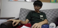 Hong Kong Activists Joshua Wong.