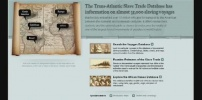 The Trans-atlantic Slave Trade Database