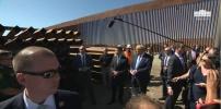 President Trump Visits The Border Wall