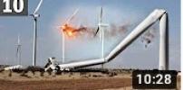 TOO MUCH WIND! 10 Wind Turbine Fails