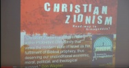 Christian Zionism And The Biblical Prophecies