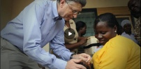 VaccineTrial-Run Begins In Africa, Courtesy Of Bill Gates & Mastercard