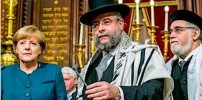 Jews Now Condemning Angela Merkel For Flooding Germany With Violent 'Antisemitic' Muslims