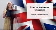 Patriotic Alternative Conference Sept / 2019