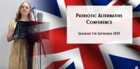 Patriotic Alternative Conference Sept / 2019