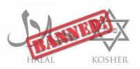 Halal  (Islam/Muslim) and Kosher (Jewish) Slaughter