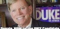 David Duke runs for US Senate