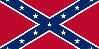 The Banning Confederate Battle Flag of the Southern States In The United States