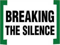 Logo of Breaking the Silence organization