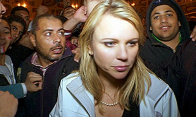 Lara Logan Reporting From Egypt Where she was sexually assulted