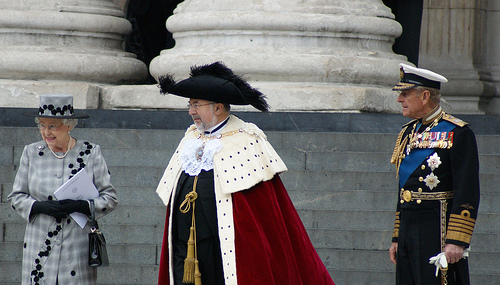 Lord Mayor Allowing Queen to enter City of London