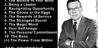 Earl Nightingale Message, Happiness & Success