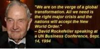 Rockefellers (Gentile ?), New World Order