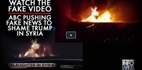 ABC Fake News Syria Bombing Video(showed)