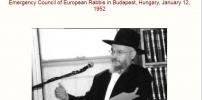 RABBI RABINOVICH'S SPEECH Jews Rule The World