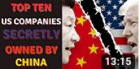 U.S. COMPANIES SECRETLY OWNED BY CHINA.