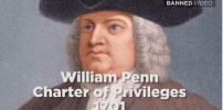 William Penn wrote the Charter of Privileges in 1701