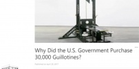 U.S. Government Purchased 30, 0000 Guillotines?